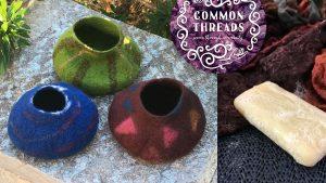 Lovely Little Felt Pots @ The Sound Temple | East Perth | Western Australia | Australia
