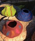 Kim Gordon Lovely Little Felt Pots