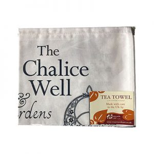 Chalice Well Tea Towel
