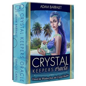 Crystal Keepers Oracle by Adam Barralet