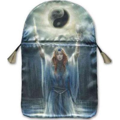 Sacred Priestess Satin Tarot Bag