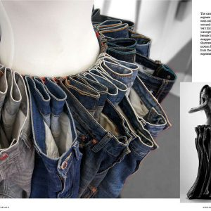 ReFashioned: Cutting-Edge Clothing from Upcycled Materials