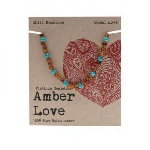 AMBER LOVE Children's Necklace Baltic Amber
