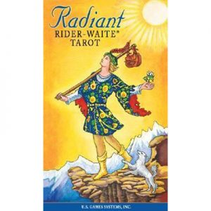 Radiant Rider Waite Tarot Deck Us Edition