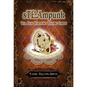 Steampunk Tea Leaf Fortune Telling Cards Tea Leaf Fortune Telling Cards