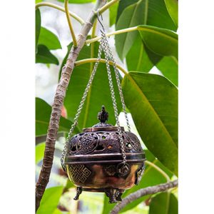 Hanging Metal Incense Censer