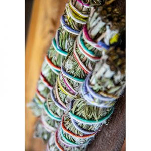 Organic Rosemary-Lavender-White Sage Smudge Sticks
