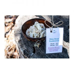 White Horaji Frankincense Resin