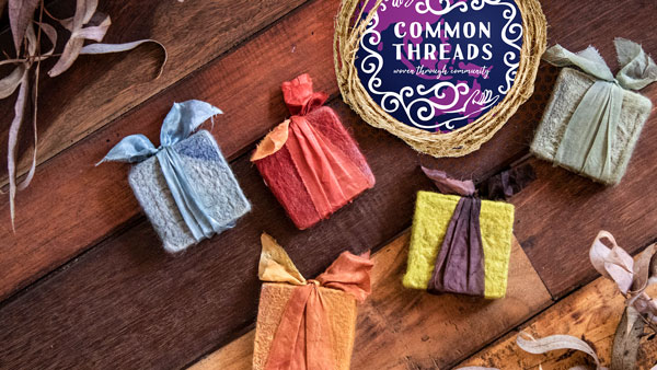 Common Threads Woven Through Community - Fun Felted Soaps