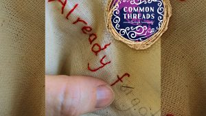 Words of Wisdom – Mother and Child Stitch Workshop