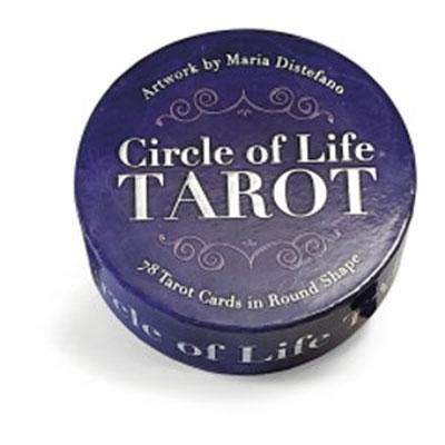 Circle Of Life Tarot Deck 78 Tarot Cards in Round Shape
